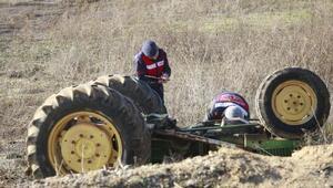 Traktörün altında kalarak öldüğü sabah ortaya çıktı