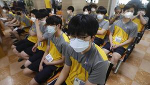 Koronavirüs paniği 800 asker karantinaya alındı…
