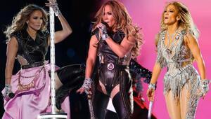 Jennifer Lopezin Super Bowl 2020 Kıyafetleri