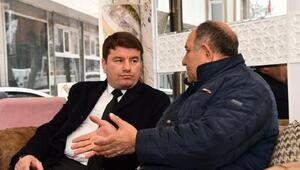 Başkan Dinçer, esnafları ziyaret etti