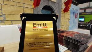 EMITTte, Tarihi Alan Başkanlığına En İyi Ekip Çalışması plaketi verildi
