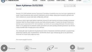 Trabzon Valiliğinden Fenerbahçe otobüsüne silah gösterildiği iddialarına yanıt
