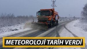 İstanbula ne zaman kar yağacak Meteoroloji tarih verdi