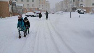 Sivasın İmranlı ilçesinde okullara kar tatili