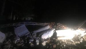 Kırıkkalede türbe ziyaretinde duvar çöktü: 2 yaralı