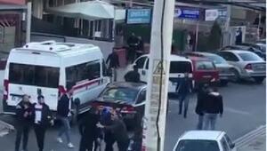 İzmirde sokak ortasında pompalı tüfekli kavga