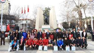 Atatürkün Denizliye gelişinin 89ncu yılı kutlandı