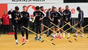 Beşiktaşta Gaziantep FK maçının hazırlıkları sürüyor