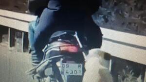Köpeği motosikletin arkasına bağlayarak götüren sürücüye para cezası