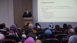 Hastane personeli, koronavirüse karşı bilgilendirildi
