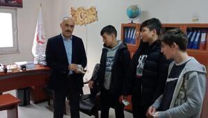 Trabzon Çocuk Evlerindeki çocuklardan, Elazığa yardım