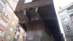 Tek kolon üzerine 3 katlı bina