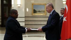 Cumhurbaşkanı Erdoğan, büyükelçileri kabul etti
