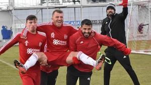 Sivasspor, Antalya kupa maçı hazırlıklarını sürdürdü