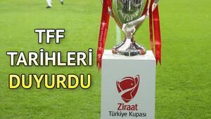 Ziraat Türkiye Kupası yarı final maçları ne zaman İşte, çeyrek final rövanş ve yarı final maç programı