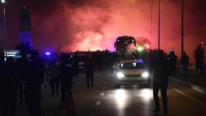 Fenerbahçeye Kırklarelinde coşkulu karşılama