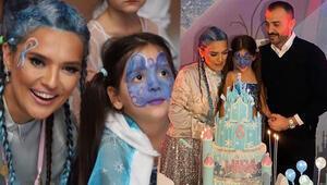 Demet Akalından görkemli kutlama... Hira 6 yaşında