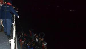 Çanakkalede 67 kaçak göçmen yakalandı