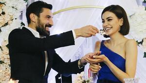 Şener Özbayraklı ile oyuncu Şilan Makal nişanlandı