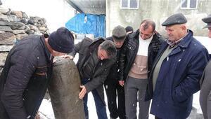 Son dakika haberler: Erzurumda Kıpçakların mezar taşı taşbaba bulundu