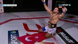Cihan Kaplan MMAda şampiyonluk kemerini kazandı