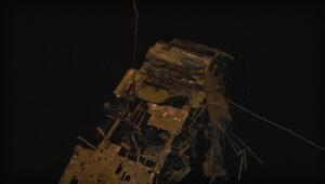 İkinci Dünya Savaşında düşen uçağın enkazı Karadenizden çıkarıldı