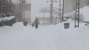 Karlıovada kar esareti; açılan yollar 1 saat sonra yeniden kapanıyor