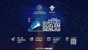 Bakan Varanktan Ulusal Gökyüzü Gözlem Şenliğine davet