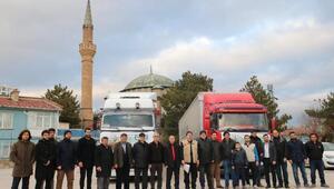 Afyonkarahisardan İdlibe yardım