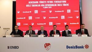 TFF, DenizBank ile sponsorluk anlaşması imzaladı