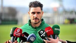 Bursasporlu Özer Hurmacı: Futbolda pes etmek yok