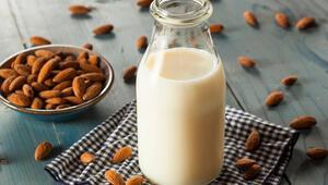 Hazırlaması kolay, faydası çok Badem sütü bakın nelere iyi geliyor
