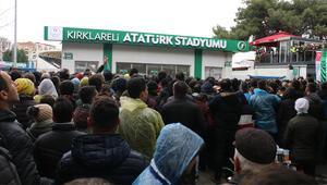 Kırklarelispor - Fenerbahçe maçı öncesinde gerginlik