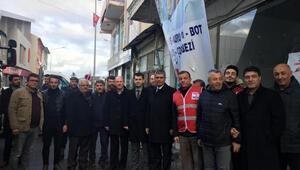 Suşehrinden İdlibe insani yardım malzemesi