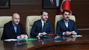 Bakan Albayrak: Elazığ ve Malatyadaki esnafa faizsiz kredi verilecek