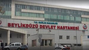 Beylikdüzü Devlet Hastanesinde kabin memurunun tahlilleri temiz çıktı