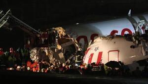 Son dakika haberleri: Sabiha Gökçende pistten çıkan uçak üçe bölündü 3 kişi hayatını kaybetti