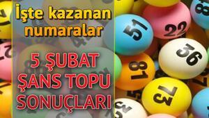 Şans Topu sonuçları açıklandı, 222 bin 4e bölündü 5 Şubat Şans Topu sonuç sorgulama