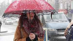 Doğu Karadenizde karla karışık yağmur ve kar yağışı bekleniyor