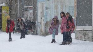 Bingölde 2 ilçede eğitime kar engeli