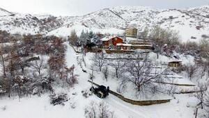 Erzincanda kar kaplanları, 24 saat görev başında