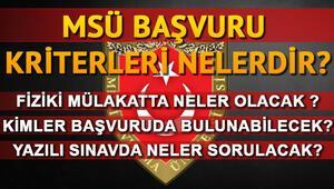 Milli Savunma Üniversitesi (MSÜ) son başvuru tarihi yaklaşıyor: MSÜ başvuru tarihleri ne zaman
