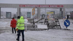 Kar Edirneden giriş yaptı
