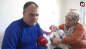 9 aylık bebeklerini yaşatmak için evlerini hastaneye çevirdiler
