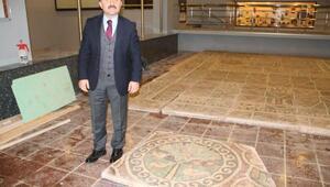 1800 yıllık elmalı mozaik, Amasya Arkeoloji Müzesinde sergilenecek