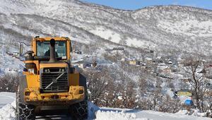 Bingöl'de karla mücadele çalışması: 179 köy yolu ulaşıma açıldı