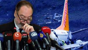 Son dakika haberler... Pegasus Genel Müdürü Mehmet Tevfik Naneden kaza açıklaması