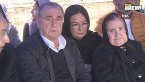 Fatih Terim ailesiyle, babası Talat Terimi vefatının 1.yılında andı