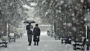 Meteoroloji o bölgeyi uyardı Kar yağışı...