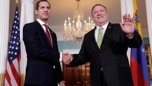 Pompeo ve Guaido Beyaz Sarayda Venezuelayı görüştü